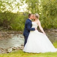 Kelle & Nick | Bozeman Wedding at the Rockin TJ Ranch