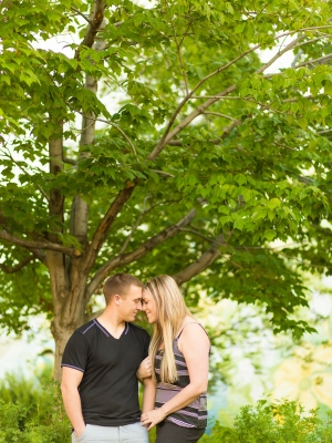 Bozeman Engagement Session downtown - Park next to main street